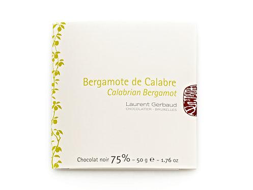 CALABRIAN BERGAMOT - DARK CHOCOLATE / 50 G.