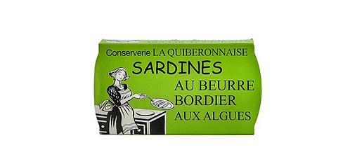 BORDIER SEAWEED BUTTER SARDINES 115 G.