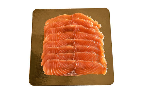 NORWAY SALMON CURED AND SMOKED FROM HOME / 100 G.