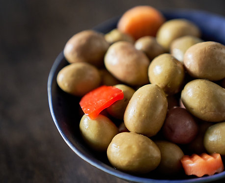 RARE GREEN OLIVES FROM THE ANDALUSIAN DESERT / 290 G.