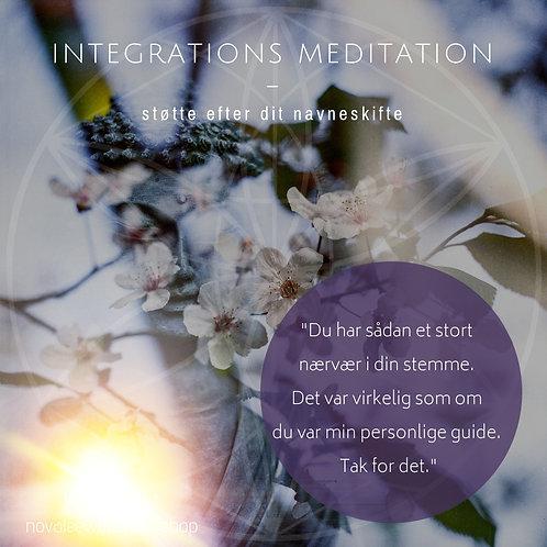 Integrations Meditation