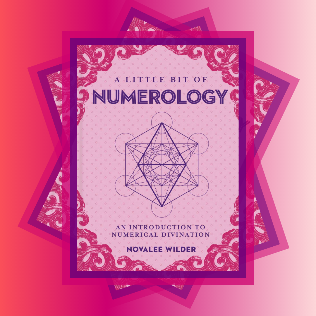 A Little bit of Numerology by Novalee Wilder, front cover.