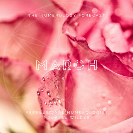 The Numerology Forecast - March 2021