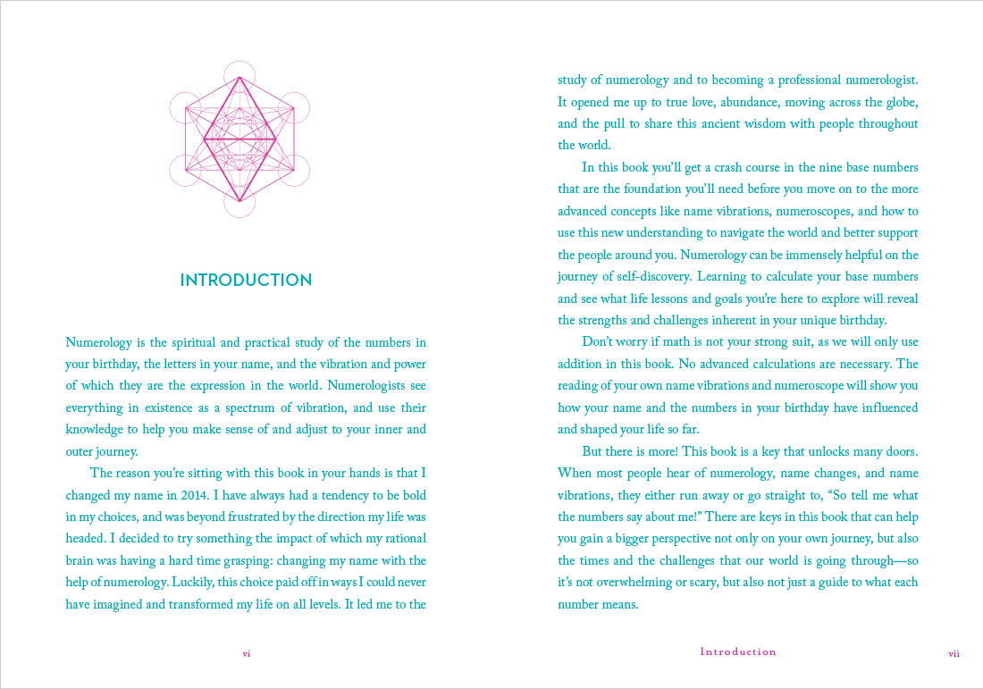 A Little bit of Numerology by Novalee Wilder introduction chapter