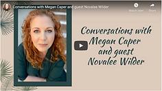 Conversations w Megan Caper and Novalee