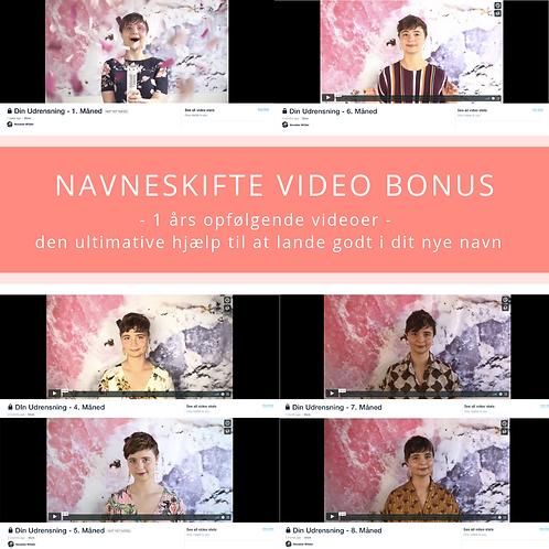 Navneskifte Video Bonus