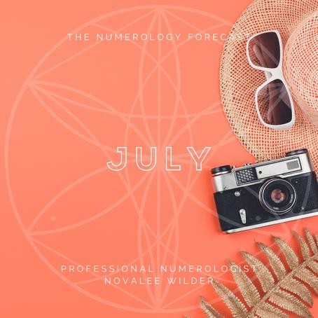 The Numerology Forecast - July 2020