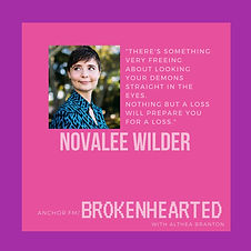 Brokenhearted podcast episode with Noval