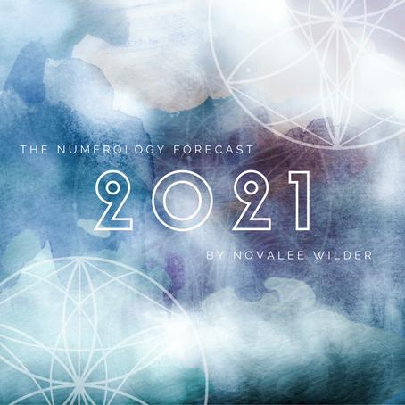 The Numerology Forecast - 2021