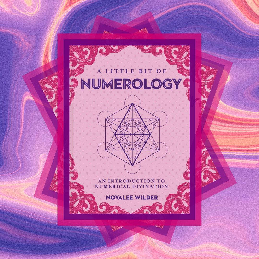 Frnot cover of A Little bit of Numerology by Novalee Wilder