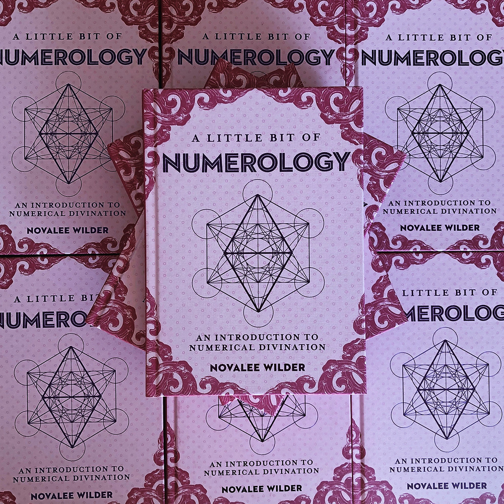 Piles of A Little bit of Numerology by Novalee Wilder