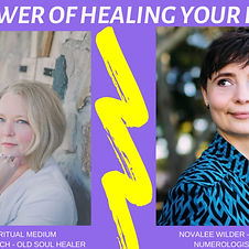 The Power of Healing Your energy podcast episode with Novalee Wilder