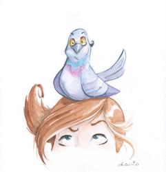 Die Taube - Der Blick