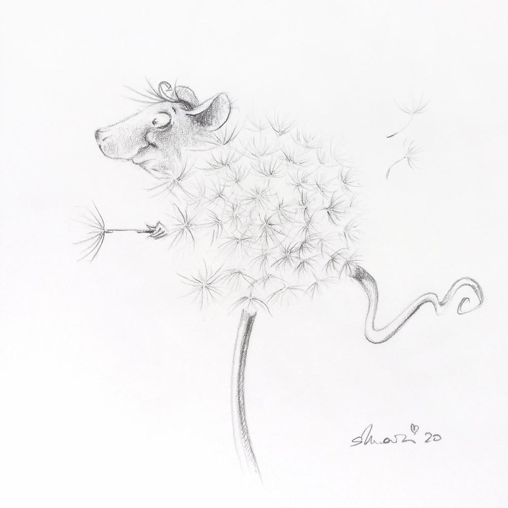Zeichnung, Drawing, Sketch, Doodle