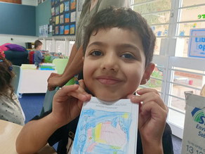 Students learn about passports and countries in Week 4 of Term 4, 2020