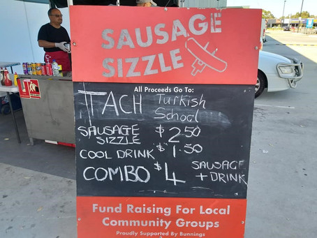 Bunnings Sausage Sizzle Volunteers Needed!