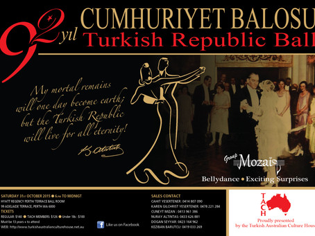 Only One Week Left To Buy Your Ticket to the 2015 Turkish Republic Ball!