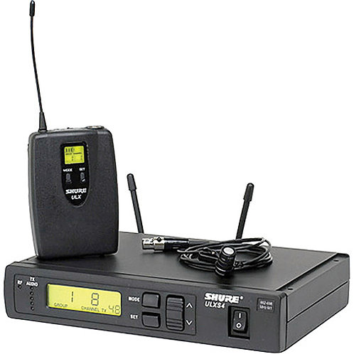 Shure ULXS14/85 Wireless Cardioid Lavalier Microphone System (G3: 470 to 506 MHz