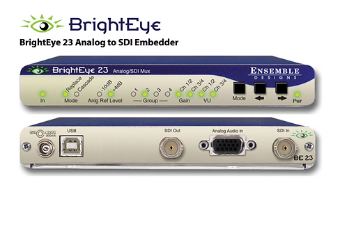 BrightEye 23 Analog Video to SD-SDI Embedder
