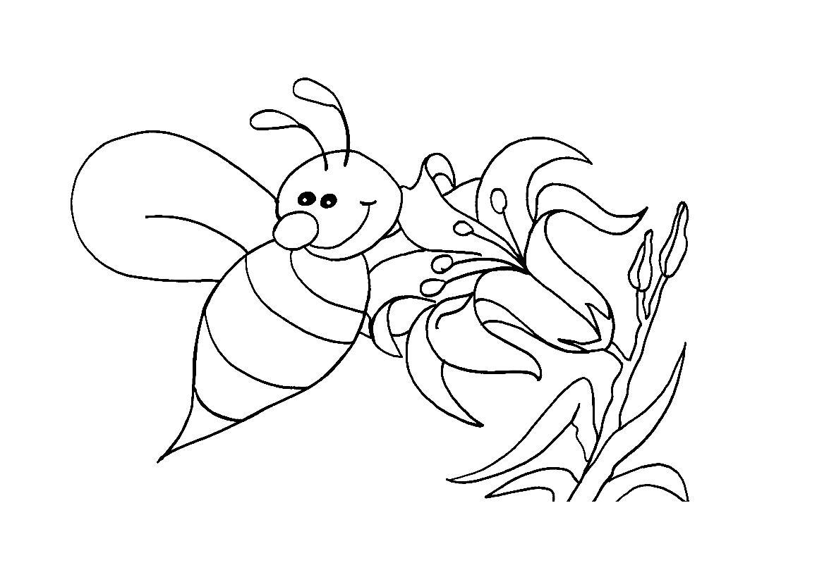 Bees and Flowers 4