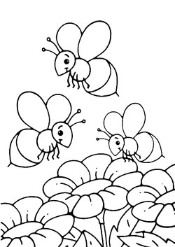 Bees and Flowers 3
