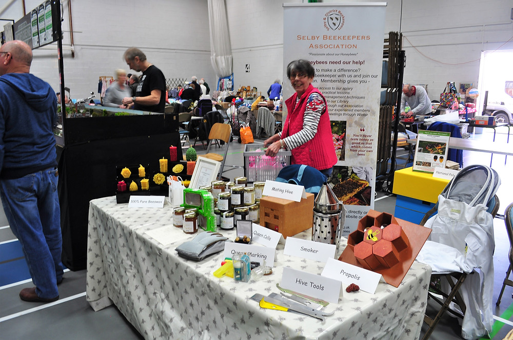 Beekeeping Exhibition Stand - Goole