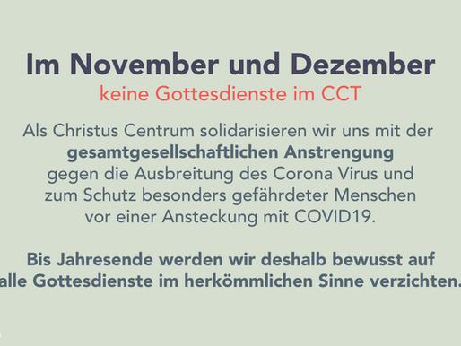 Achtung! Corona Update...
