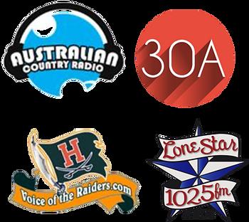 Austalian Country Radio, 30A, Voice of the Raider, Lonestar Logo