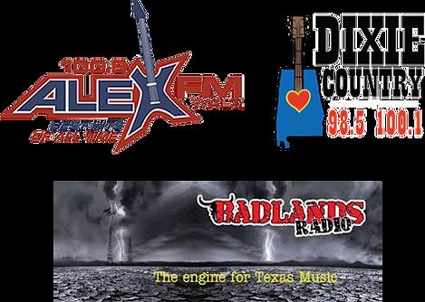 AlexFMWalx, Dixie Country, Badlands Logo