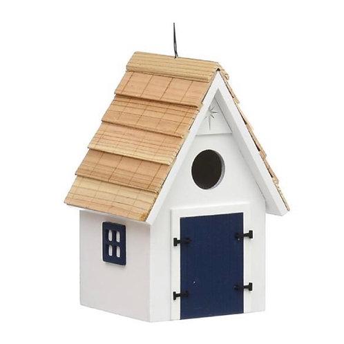Beach hut bird house