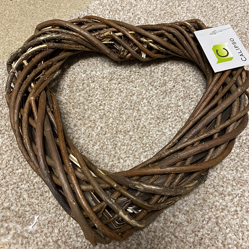Unpeeled Willow Heart