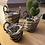 Thumbnail: Handmade willow basket, set of three