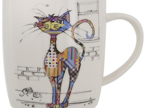 Bug Art Cola Cat Design Mug In Gift Box Kooks