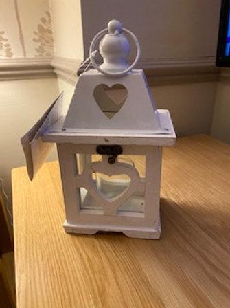 Wooden lantern 24cm