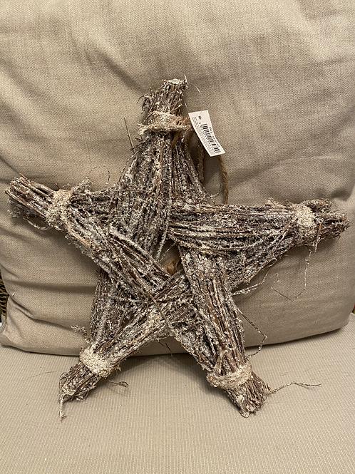 Dove Twig Hanging Star 30cm