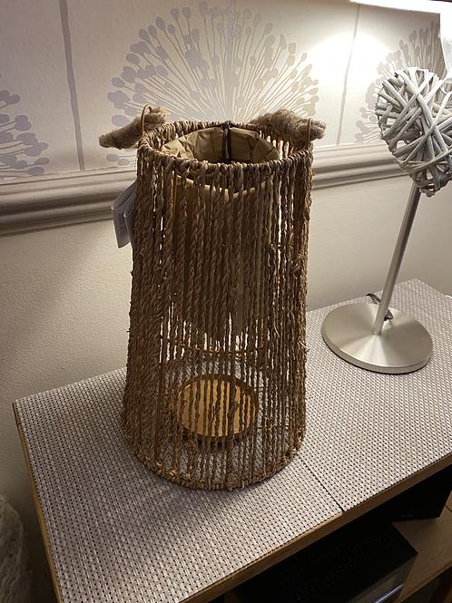 Seagrass lantern 32cm