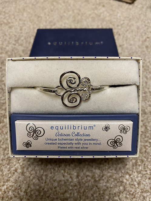Equilibrium Butterfly Bangle
