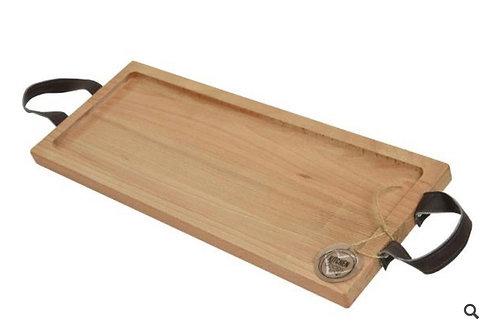 Wooden beech chopping board natural 40cm