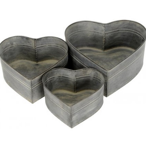 Heart containers, set of three