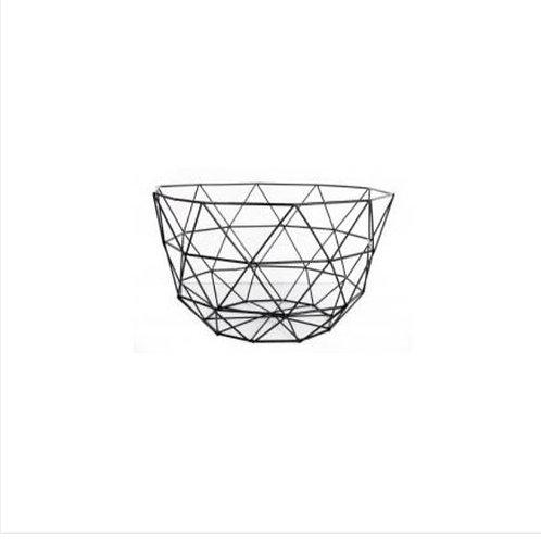 Geometric storage basket
