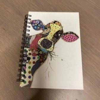 Bug Art A6 Cow Notebook