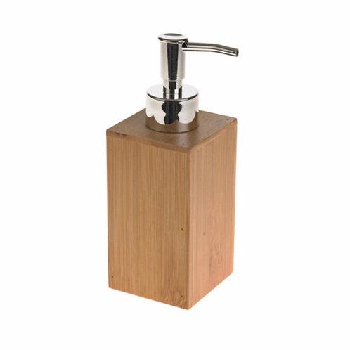 Bamboo soap dispenser