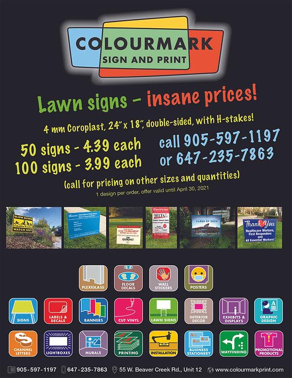 111111 Colourmark lawn sign promo.jpg