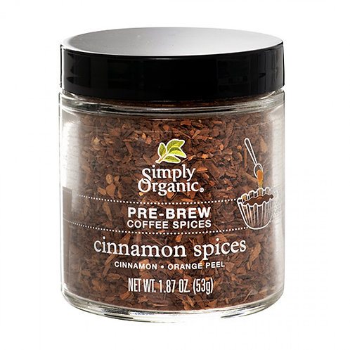 Cinnamon Pre-Brew Coffee Spice, Organic