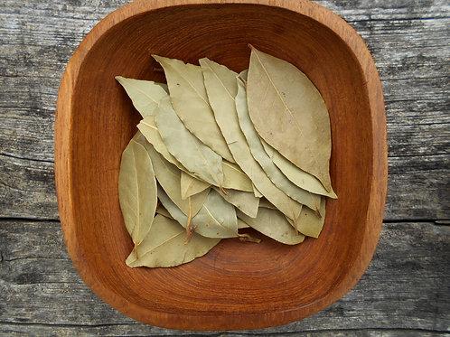 357-Bulk Bay Leaf, Whole, Organic, 1 lb.