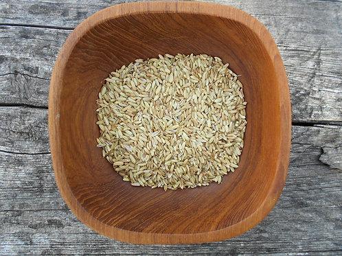 2619-Bulk Fennel Seed, Whole, Organic, 1 lb.
