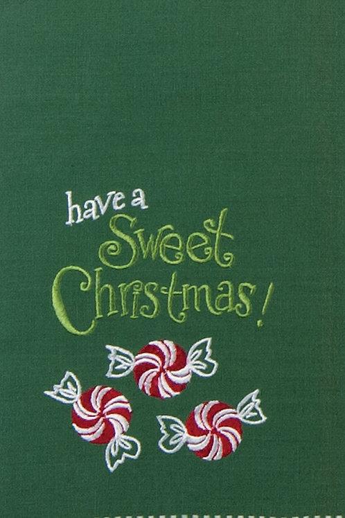 Sweet Christmas Tea Towel