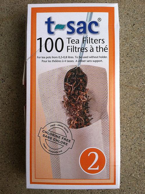 T-Sac Tea Filters, #2