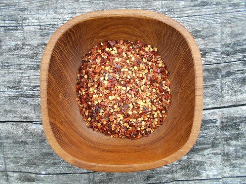 122-Bulk Chili Pepper Flakes, Crushed Red, 1 lb.