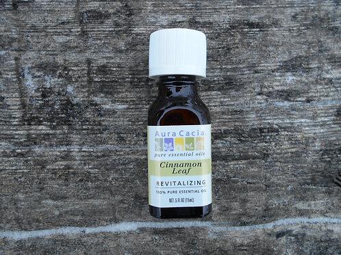 Cinnamon Leaf Essential Oil, 0.5 fl.oz.